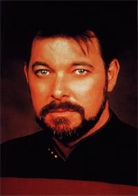 Good God, I am Will Riker! LOL!
